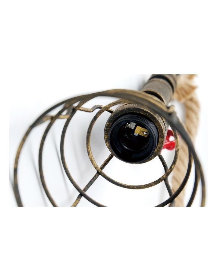 Vantage Pipe Pendant Light Antique Brown image 5