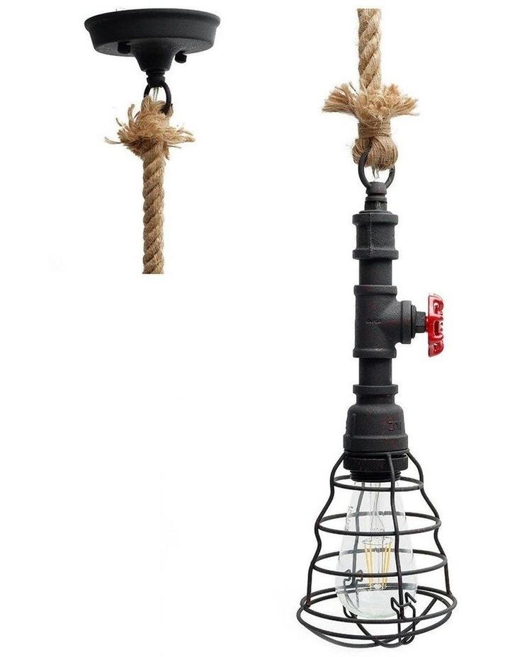 Vantage Pipe Pendant Light Rusty image 1