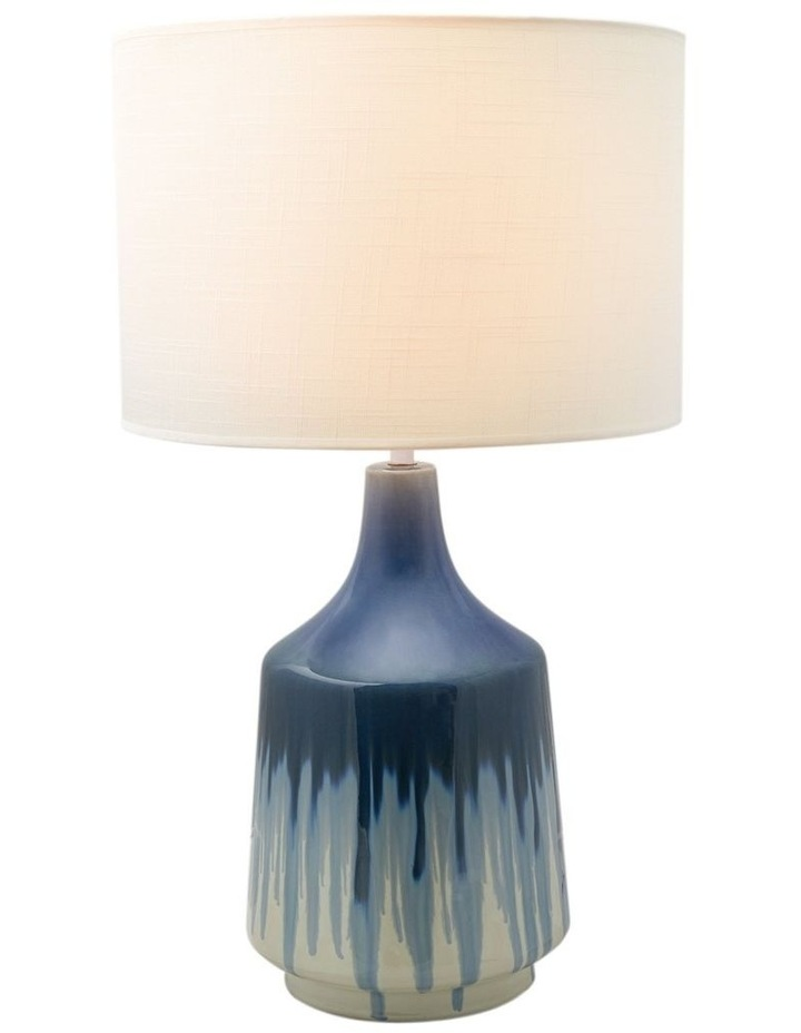 Martha Ceramic Table Lamp Blue image 1