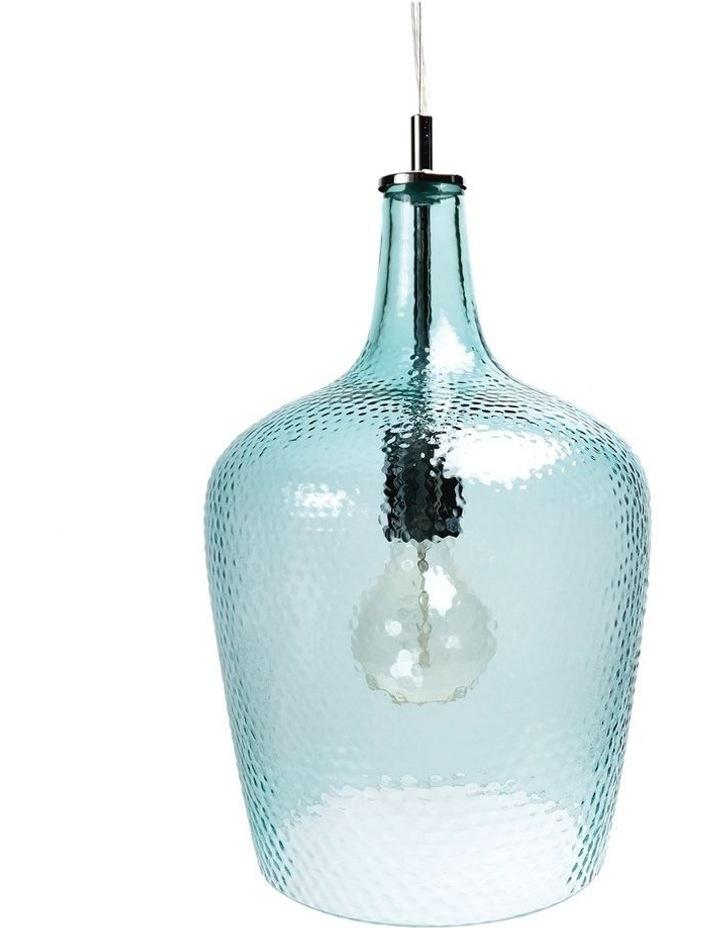 Marsha Glass Pendant Light Blue image 1