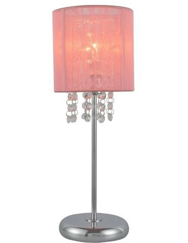 Emilia Table Lamp Pink image 2