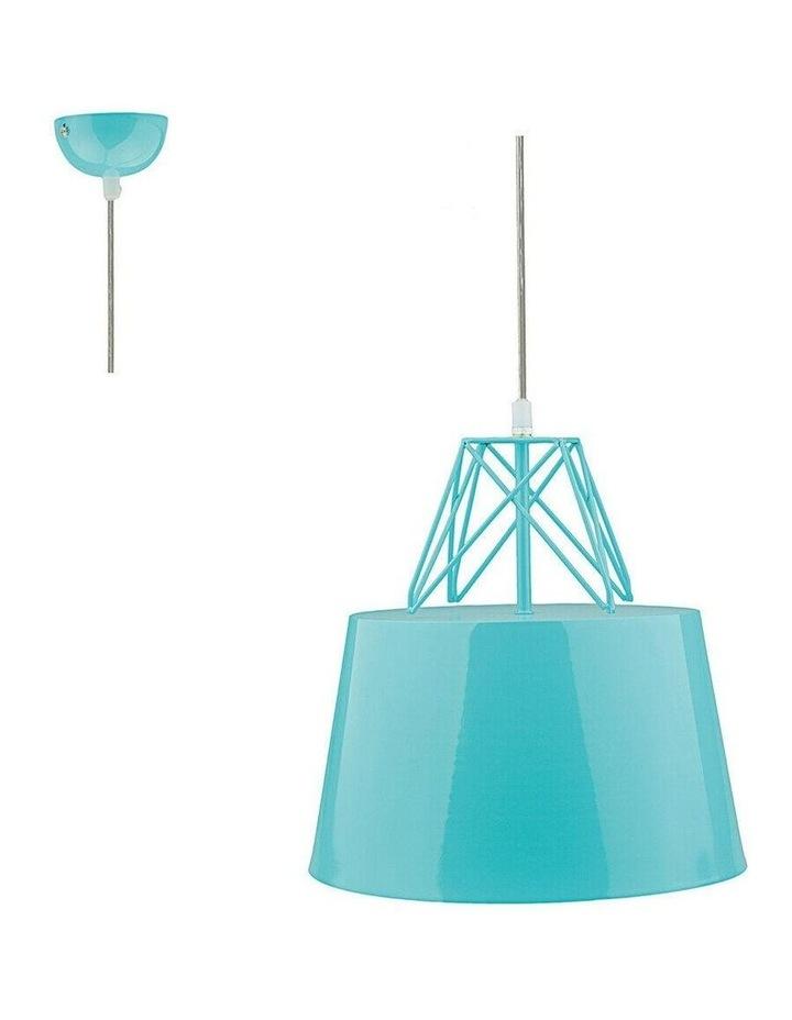 Kaelan Metal Pendant Light Blue image 2
