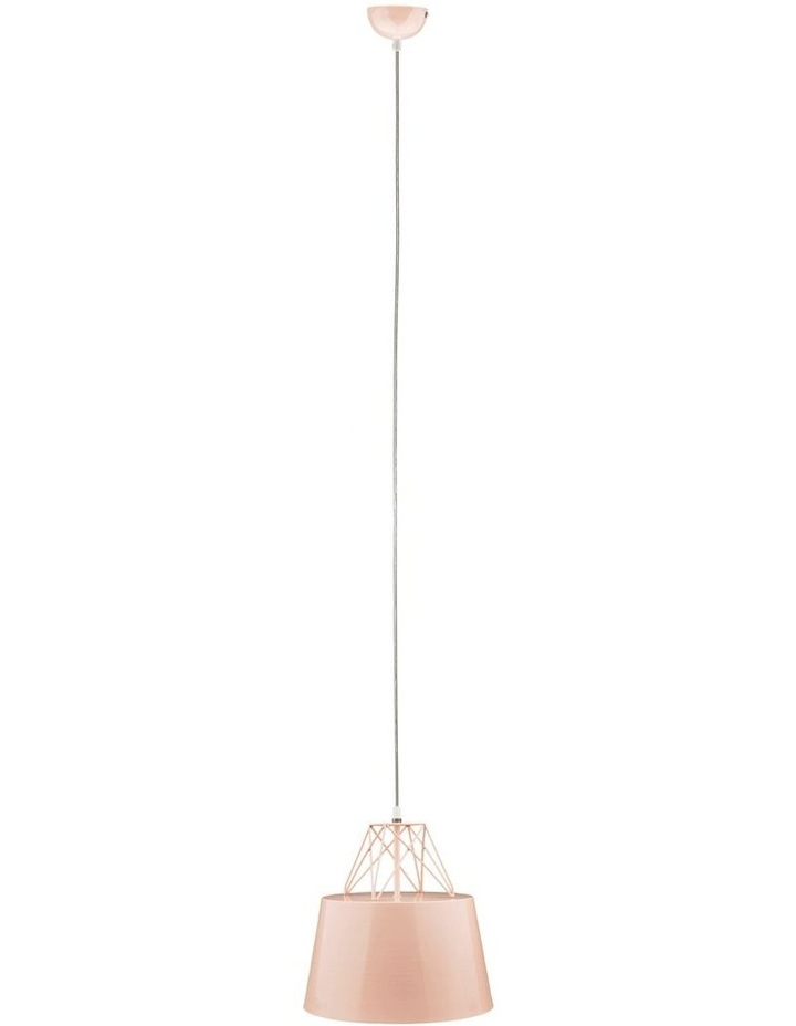 Kaelan Metal Pendant Light Pink image 1