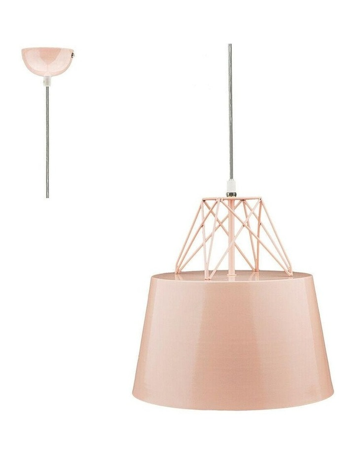 Kaelan Metal Pendant Light Pink image 2