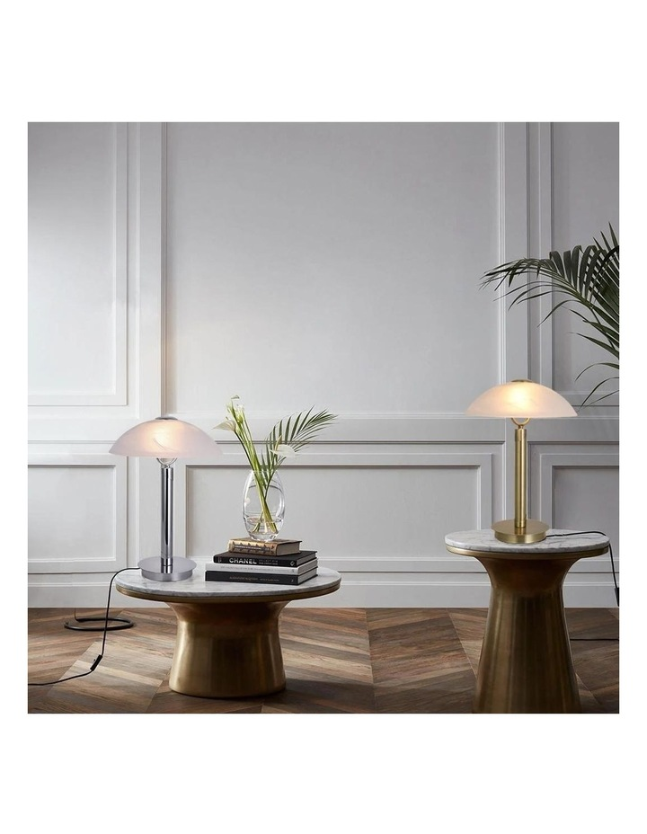 Ember Touch Table Lamp Antique Brass image 3