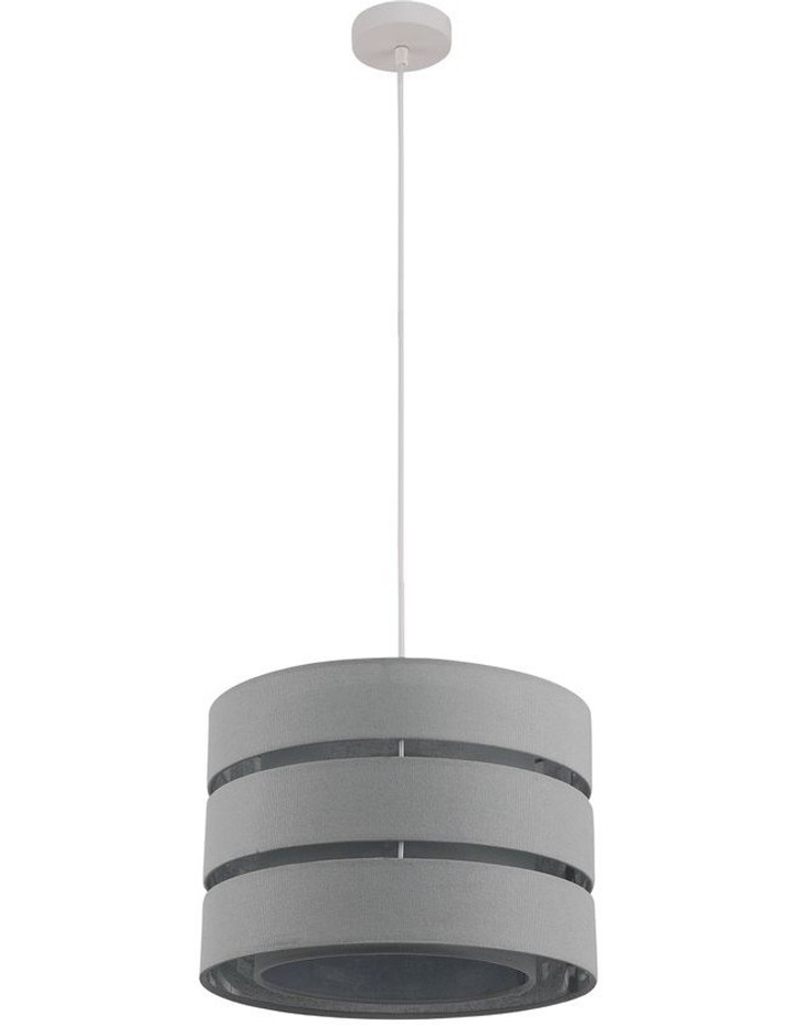 Trio 3-Tier Pendant Light Dark Grey image 1
