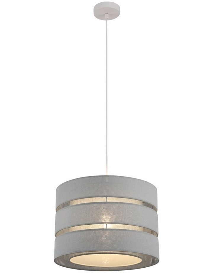Trio 3-Tier Pendant Light Dark Grey image 2