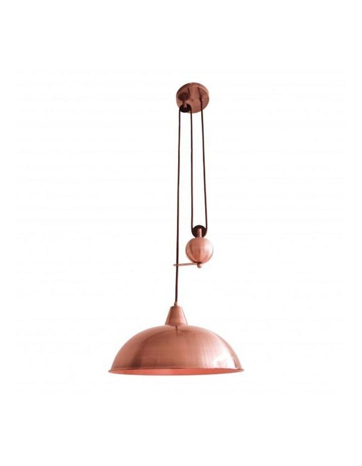 Jess Rise & Fall Pendant Light Copper image 1