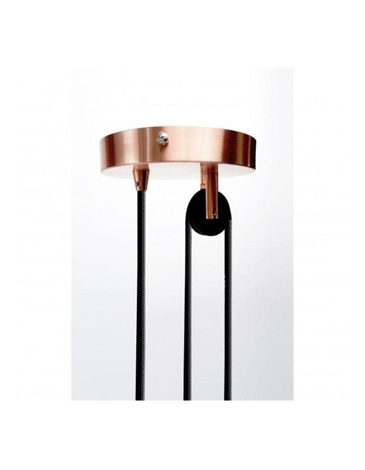Jess Rise & Fall Pendant Light Copper image 4