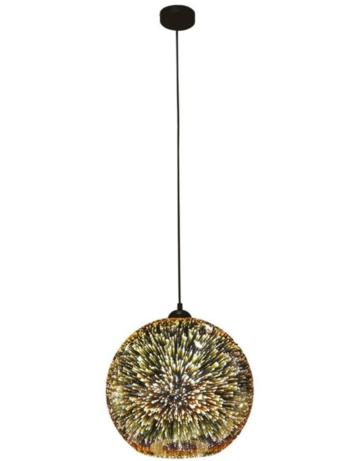 Javarone Pendant Light Copper 25cm image 1