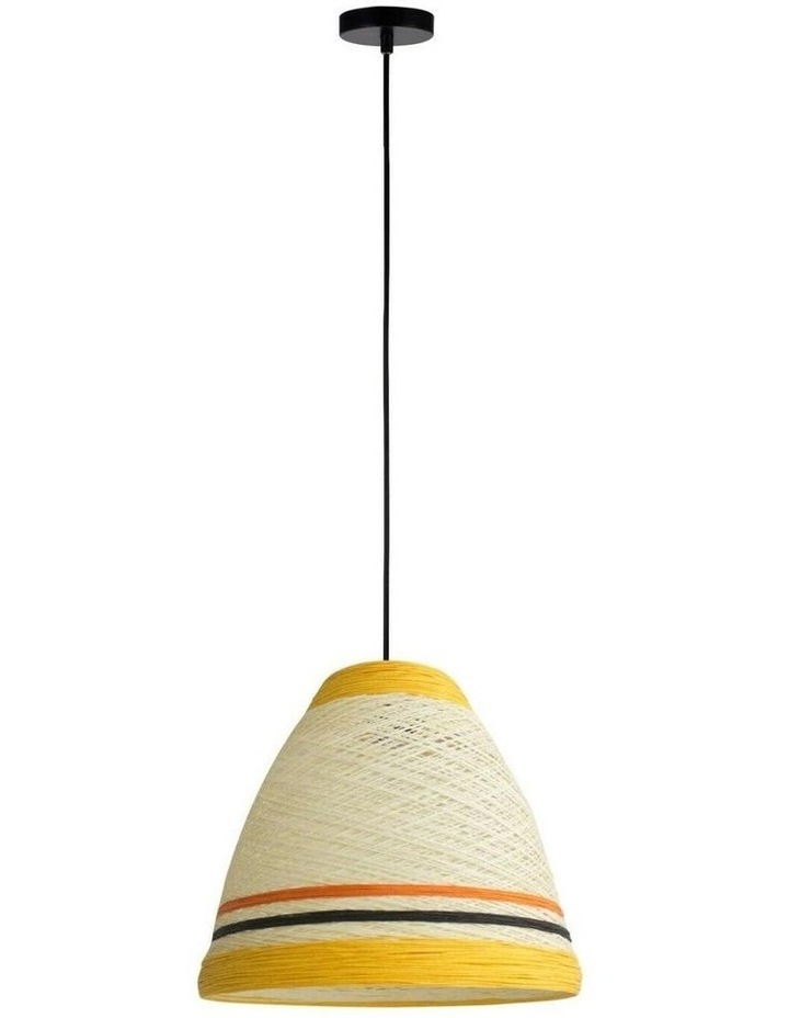 Jane Paper Pendant Light Yellow image 1