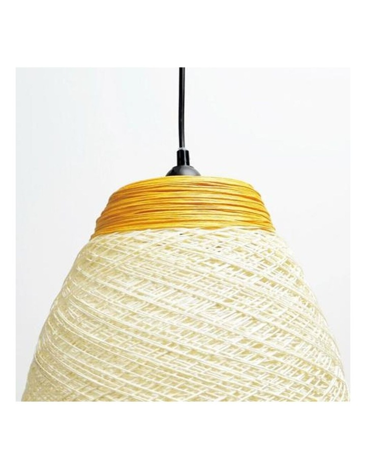 Jane Paper Pendant Light Yellow image 4