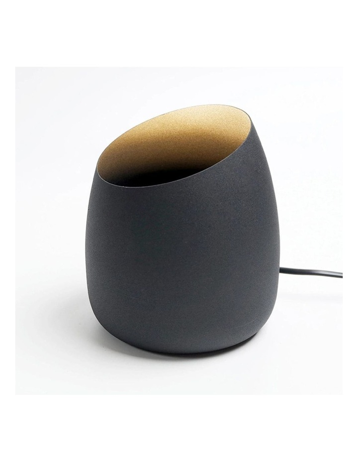 Chester Uplight Table Lamp or Floor Lamp Black Globe Included image 2