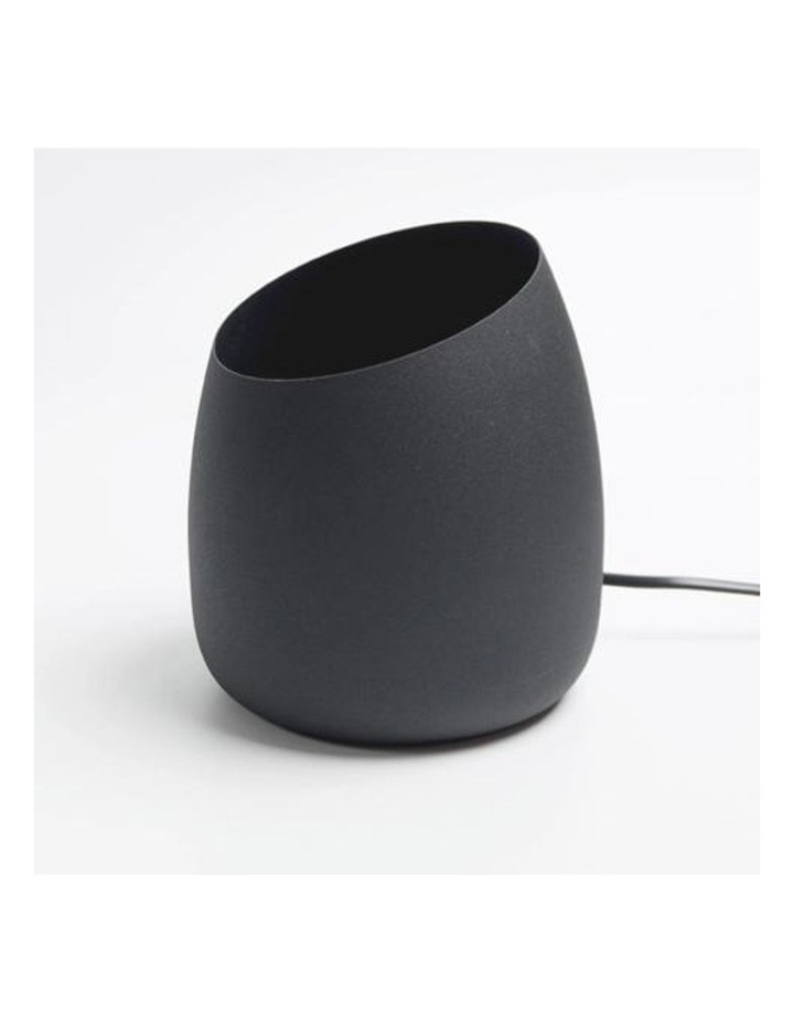 Chester Uplight Table Lamp or Floor Lamp Black Globe Included image 3