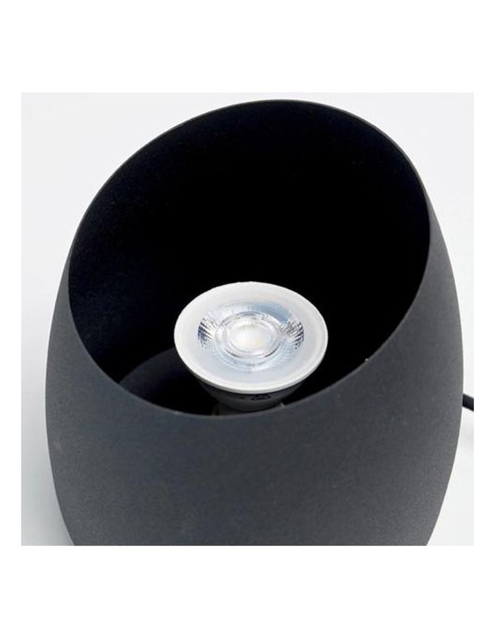 Chester Uplight Table Lamp or Floor Lamp Black Globe Included image 4