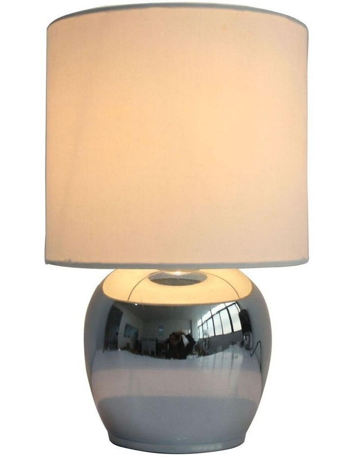 Corin Touch Bedside Table Lamp White image 1