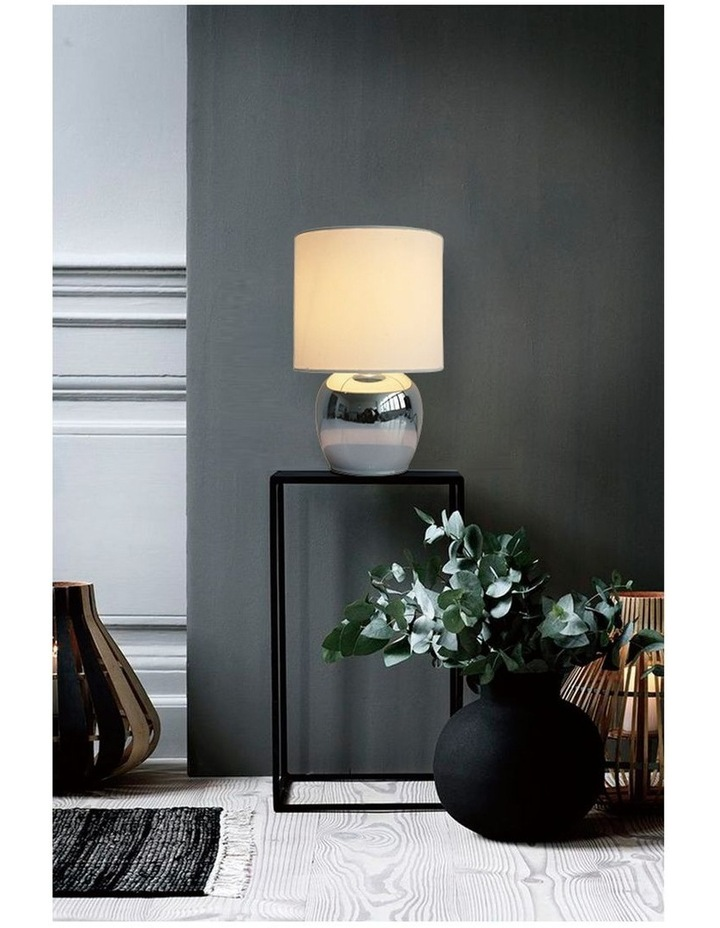 Corin Touch Bedside Table Lamp White image 4