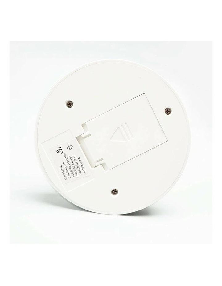 Inbuilt LED Touch Button Gooseneck Desk Lamp - Dual Power image 3