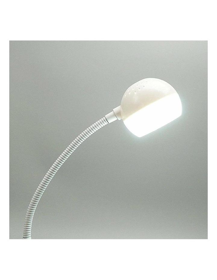 Inbuilt LED Touch Button Gooseneck Desk Lamp - Dual Power image 5