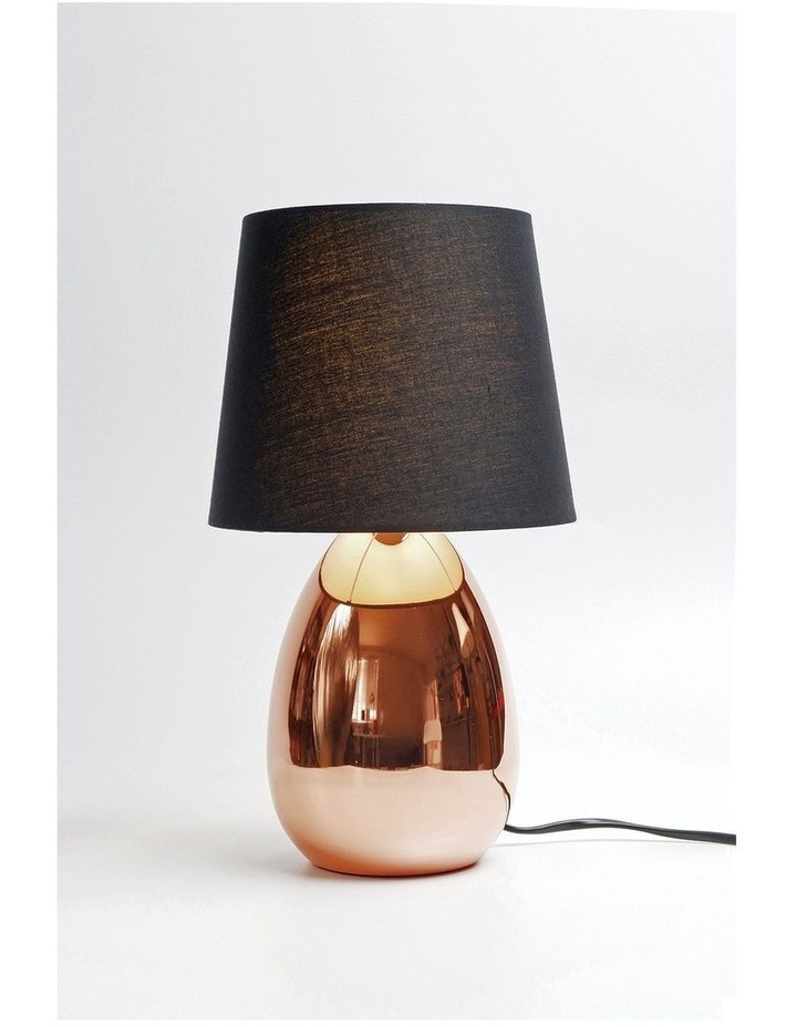 Libby Touch Table Lamp Copper Black image 2