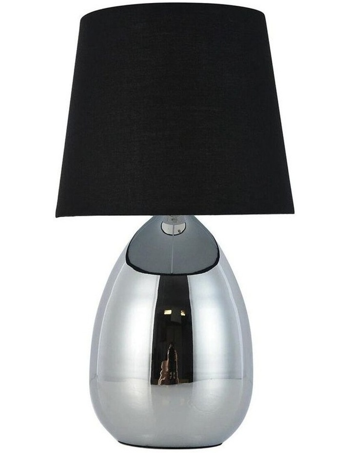 Libby Touch Table Lamp Chrome Black image 1