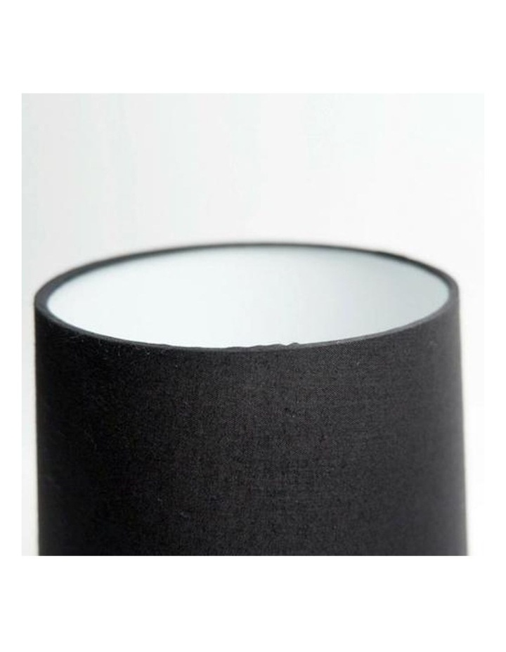 Libby Touch Table Lamp Chrome Black image 3