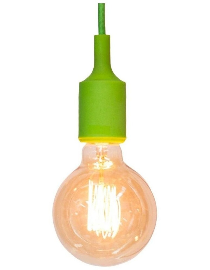 Colour Silicone Ceiling Pendant Light Green image 1
