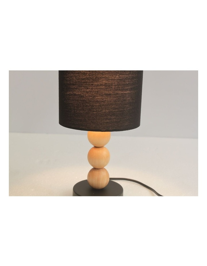 Cara Table Lamp Black image 2