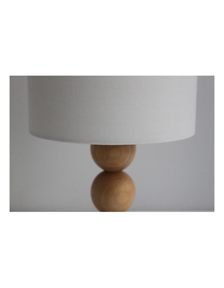 Cara Table Lamp White image 3