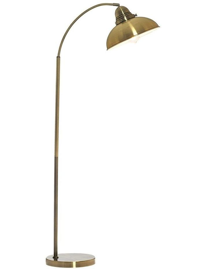 Manor Metal Floor Lamp Weathered Brass image 1