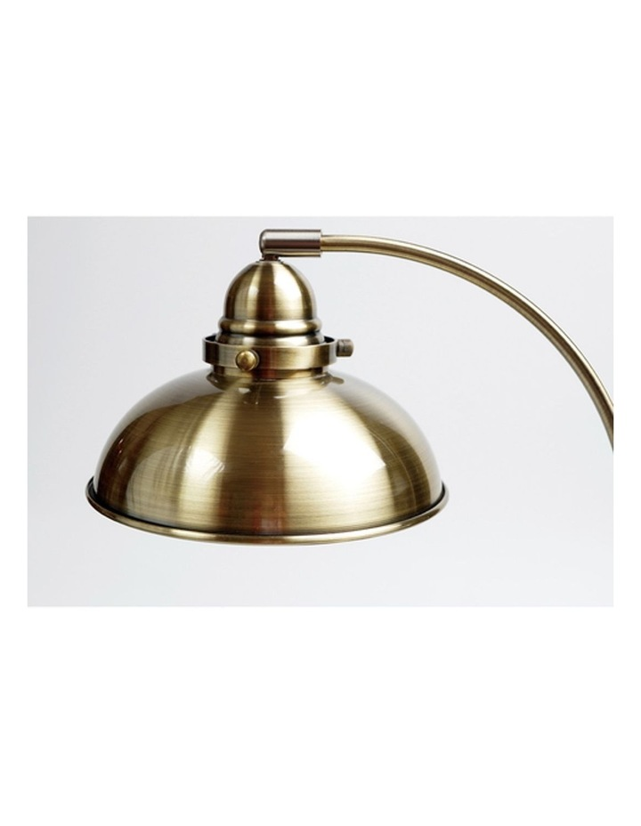 Manor Metal Floor Lamp Weathered Brass image 2