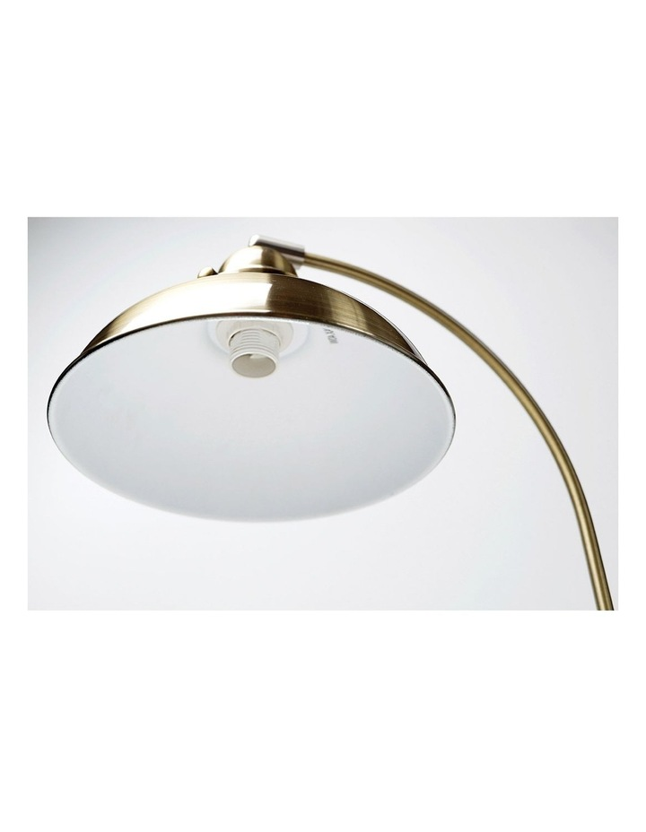 Manor Metal Floor Lamp Weathered Brass image 3