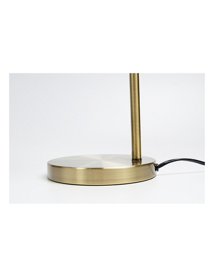Manor Metal Floor Lamp Weathered Brass image 4