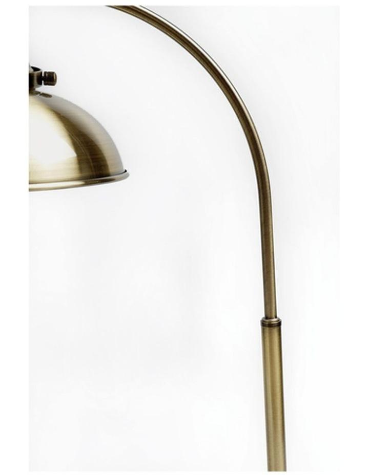 Manor Metal Floor Lamp Weathered Brass image 5