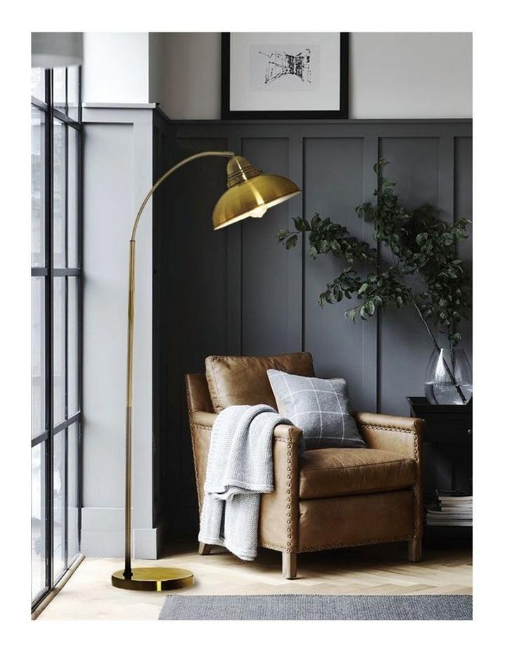 Manor Metal Floor Lamp Weathered Brass image 6