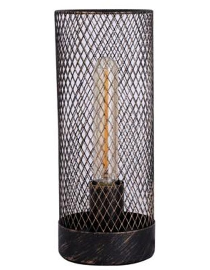 Clara Touch Table Lamp Black LED Globe Included image 2