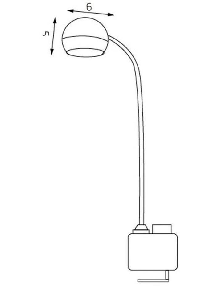 Inbuilt LED Multi-Functional Desk Lamp image 4