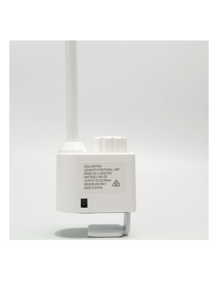 Inbuilt LED Multi-Functional Desk Lamp image 5