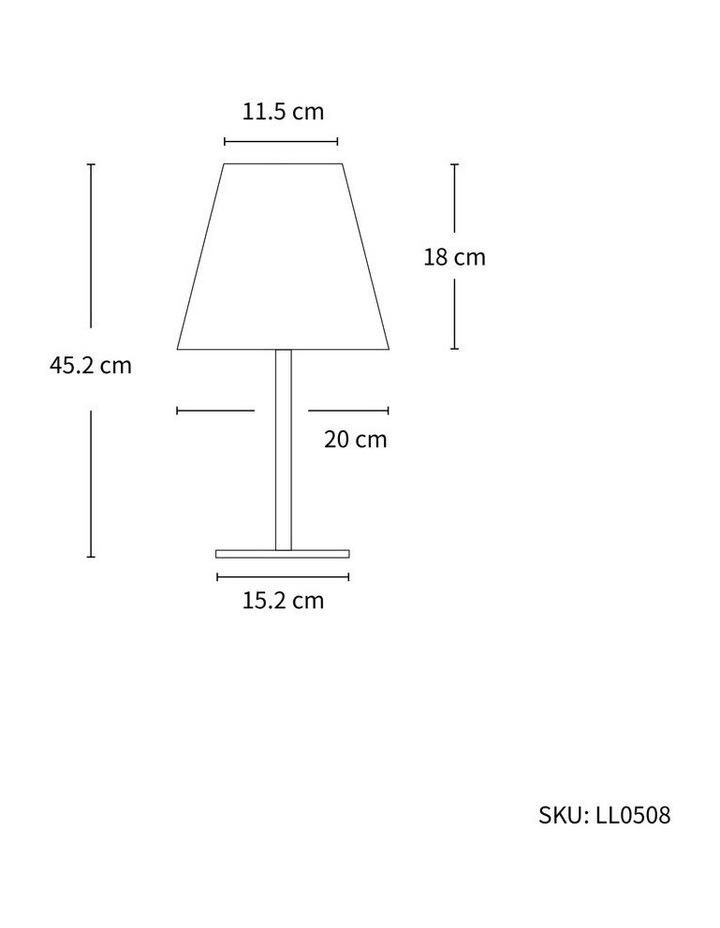 45CM LED Table Lamp DC Solar image 2