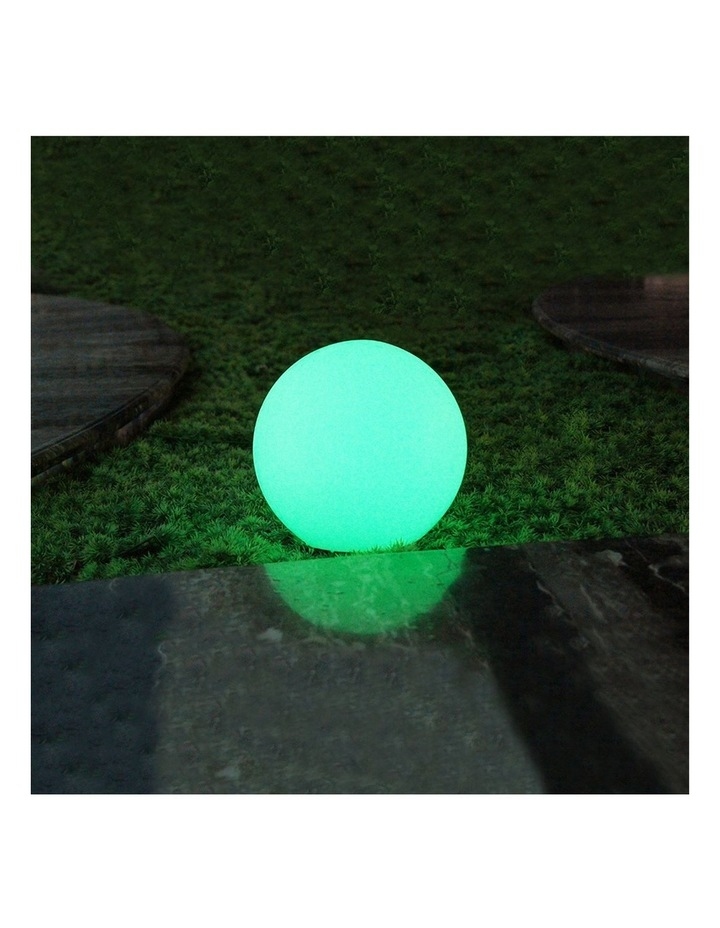 LED Mood Light Ball 30CM Solar DC Power image 3