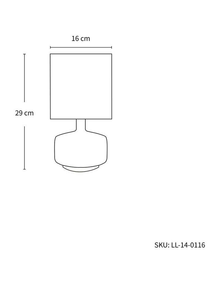 Braid Ceramic Table Lamp Set of 2 image 2