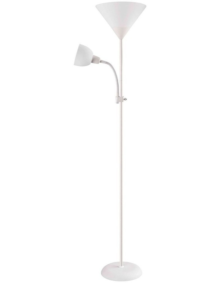 Georgia Mother and Child Floor Lamp White image 1