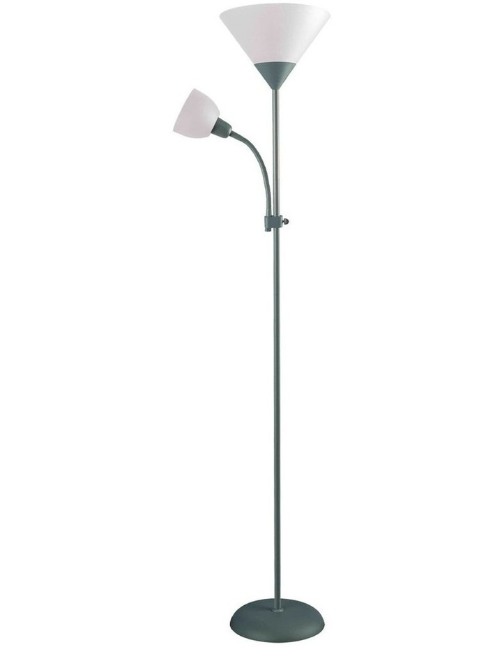 Georgia Mother and Child Floor Lamp Grey image 1