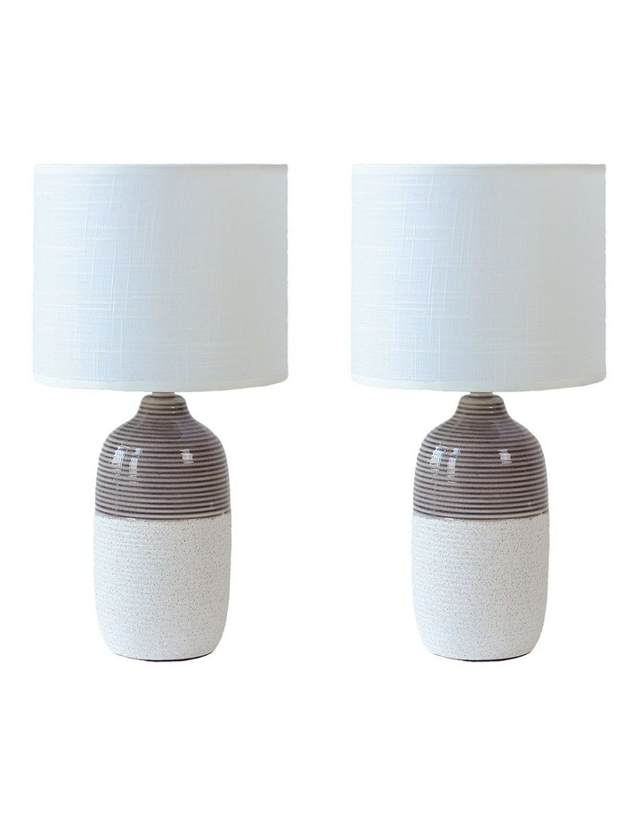 Botany Ceramic Table Lamp Set of 2 image 1