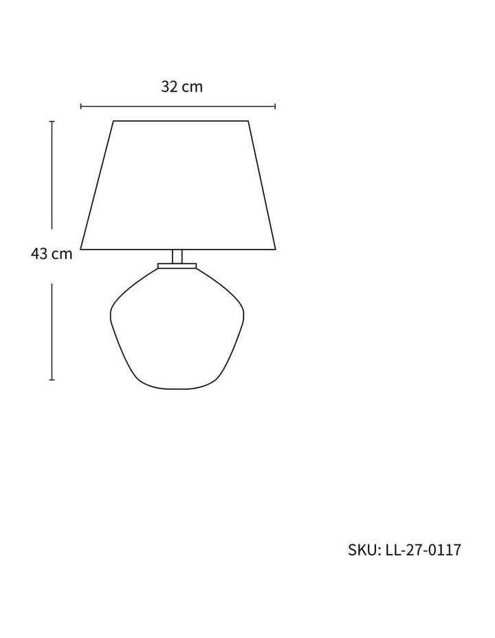 Afra Ceramic Table Lamp image 2