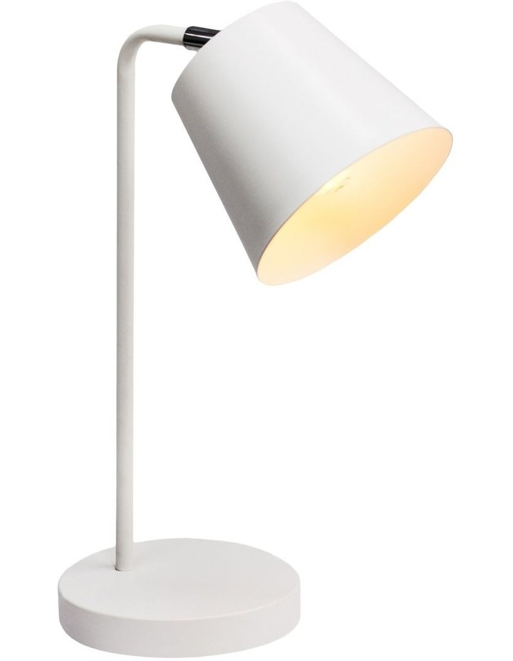 Mak Metal Desk Lamp White image 1