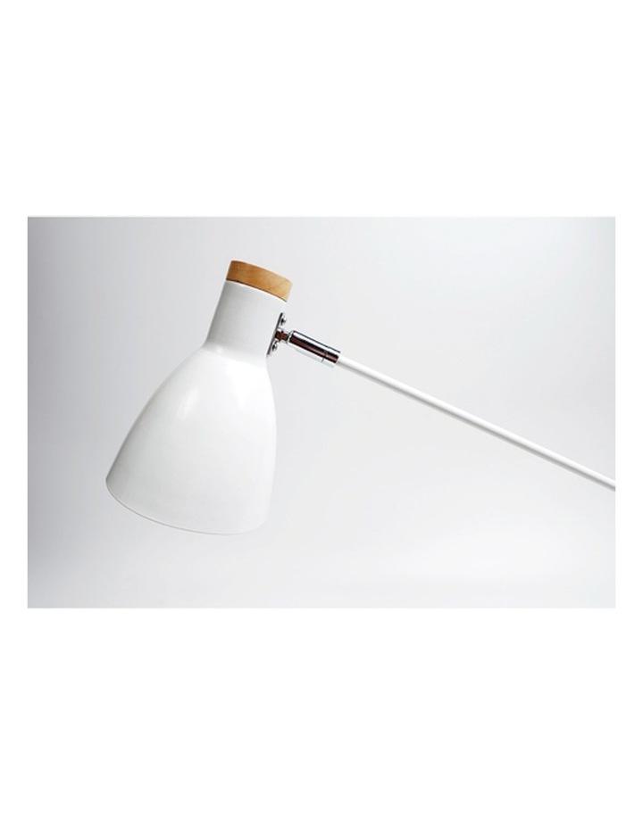 Scandinavian Style Adjustable Table Lamp White image 2