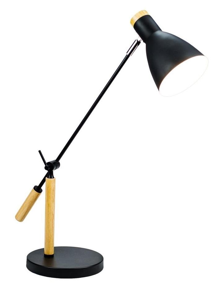 Scandinavian Style Adjustable Table Lamp Black image 1