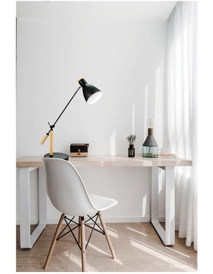Scandinavian Style Adjustable Table Lamp Black image 2