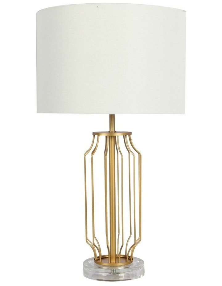 Ware Table Lamp Complete Metal Table Lamp image 1